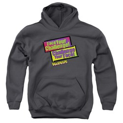 Warheads - Youth Face Your Challenge Pullover Hoodie