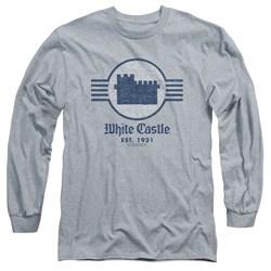 White Castle - Mens Emblem Long Sleeve T-Shirt