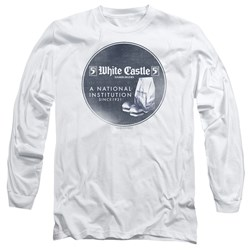 White Castle - Mens National Institution Long Sleeve T-Shirt