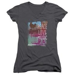 Woodstock - Womens Plm V-Neck T-Shirt