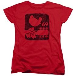 Woodstock - Womens Summer 69 T-Shirt