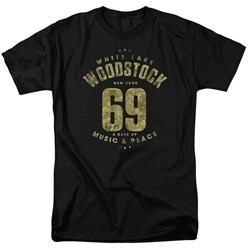 Woodstock - Mens White Lake T-Shirt