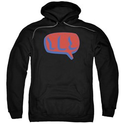 Yes - Mens Word Bubble Pullover Hoodie