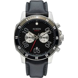 Nixon Men's Ranger Chrono Leather Analog Watch
