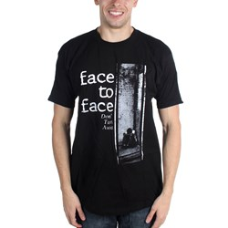 Face To Face - Mens Don't Turn Away T-Shirt