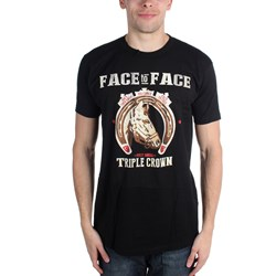 Face To Face - Mens Triple Crown T-Shirt