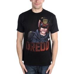 2000 AD - Mens Dredd 3D T-Shirt