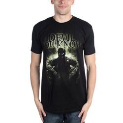 Devil You Know - Mens Waiting T-Shirt