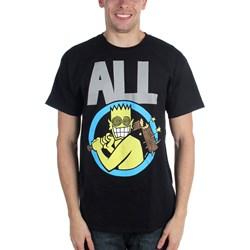 All - Mens Allroy Broken Bat T-Shirt
