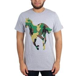 Deftones - Mens Camo Pony T-Shirt