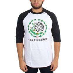 Deftones - Mens Los Deftones - 3/4 Raglan T-Shirt
