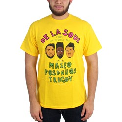 De La Soul - Mens From Amityville on Yellow T-Shirt