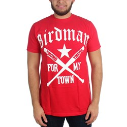 Birdman - Mens For My Town T-Shirt