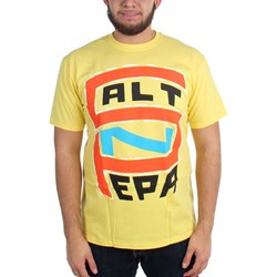 Salt-N-Pepa - Mens S-N-P Logo on Yellow T-Shirt