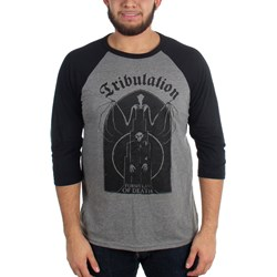 Tribulation - Mens Bat Raglan T-Shirt