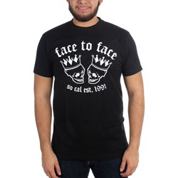 Face To Face - Mens Skull Crown T-Shirt