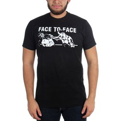 Face To Face - Mens Boxer T-Shirt