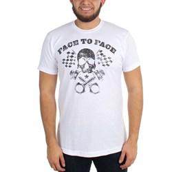 Face To Face - Mens Piston Skull T-Shirt