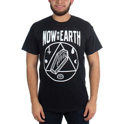 Now And On Earth - Mens Coffin  T-Shirt