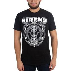Sleeping With Sirens - Mens Grey Crest Logo T-Shirt
