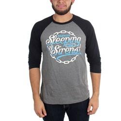 Sleeping With Sirens - Mens Chain Logo Raglan T-Shirt