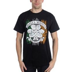 Dropkick Murphys - Mens Knotwork Flag T-Shirt