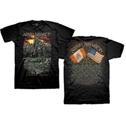 Amon Amarth - Mens DOTG 2014 Tour Dates T-Shirt