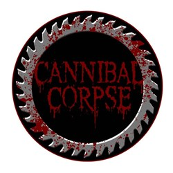 Cannibal Corpse - Mens Saw Blade Round Patch
