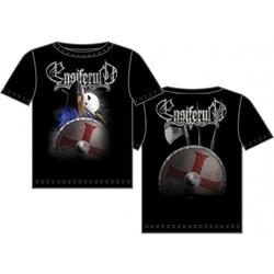 Ensiferum  - Mens Viking with Shield T-shirt