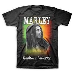 Bob Marley - Mens Rastaman Vibration T-Shirt