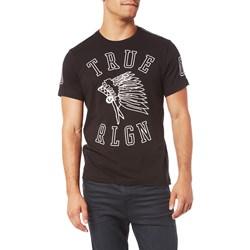 True Religion - Mens Headdress Graphic T-Shirt