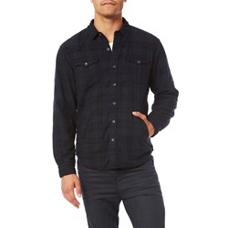 True Religion - Mens Western Shirt Jacket Button Down Shirt