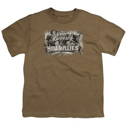 Beverly Hillbillies - Logo -  Big Boys Safari Green S/S T-Shirt For Boys