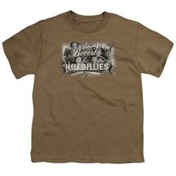 Beverly Hillbillies - Logo -  Big Boys Safari Green S/S T-Shirt For Boys