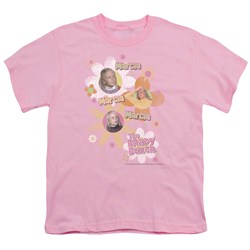 Brady Bunch - Marcia Marcia Marcia - Big Boys Lilac S/S T-Shirt For Boys