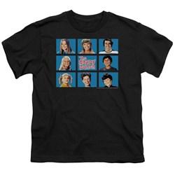 Cbs - Brady Bunch / Framed Big Boys T-Shirt In Black