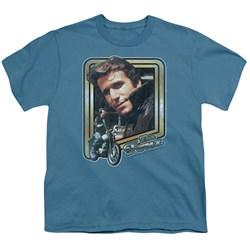 Cbs - Happy Days / The Fonz Big Boys T-Shirt In Slate