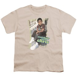 Cbs - Everybody Hates Chris Big Boys T-Shirt In Cream