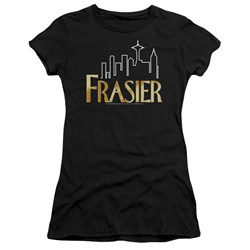 Cbs - Fraiser / Fraiser Logo Juniors T-Shirt In Black