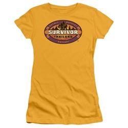 Cbs - Thailand Juniors T-Shirt In Gold