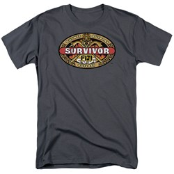 Cbs - Fiji Adult T-Shirt In Charcoal
