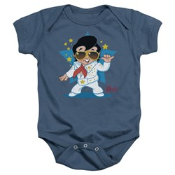 Elvis - Jumpsuit Infant T-Shirt In Carolina Blue