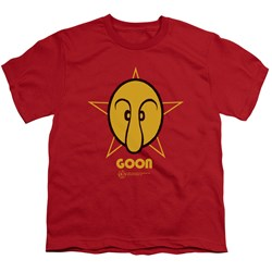 Popeye - Goon Big Boys T-Shirt In Red