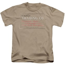 Nbc - Eureka Trading Little Boys T-Shirt In Sand