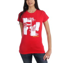 Jimmy Eat World - Womens Clarity Collage T-Shirt