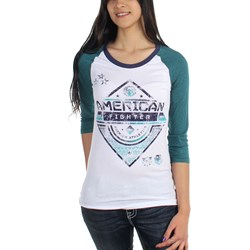 American Fighter - Womens Colby 3/4 Panel Raglan