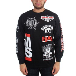 Famous Stars and Straps - Mens Ror Flash Longsleeve Mens T-Shirt