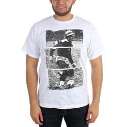 Bob Marley - Soccer 77 Mens T-Shirt In White
