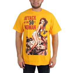 Horror - Mens Attack of the 50ft. Woman T-Shirt in Black