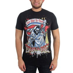 Escape The Fate - Chrome Reaper Mens T-Shirt In Black